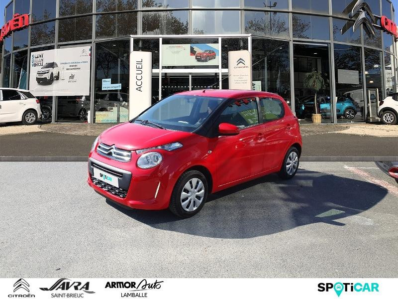 Citroen C1 VTi 68 Feel 5p Essence ROUGE SCARLE Occasion à vendre