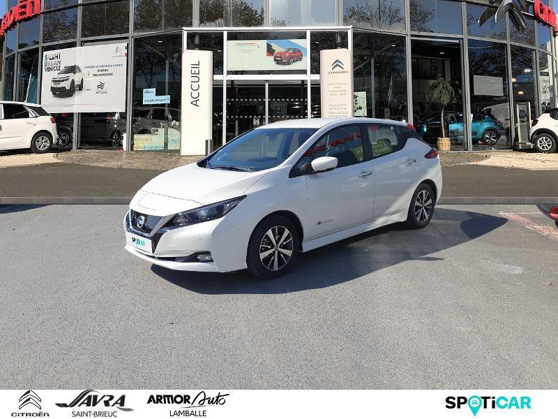 Nissan Leaf 150ch 40kWh Acenta 2018 Electrique blanche Occasion à vendre