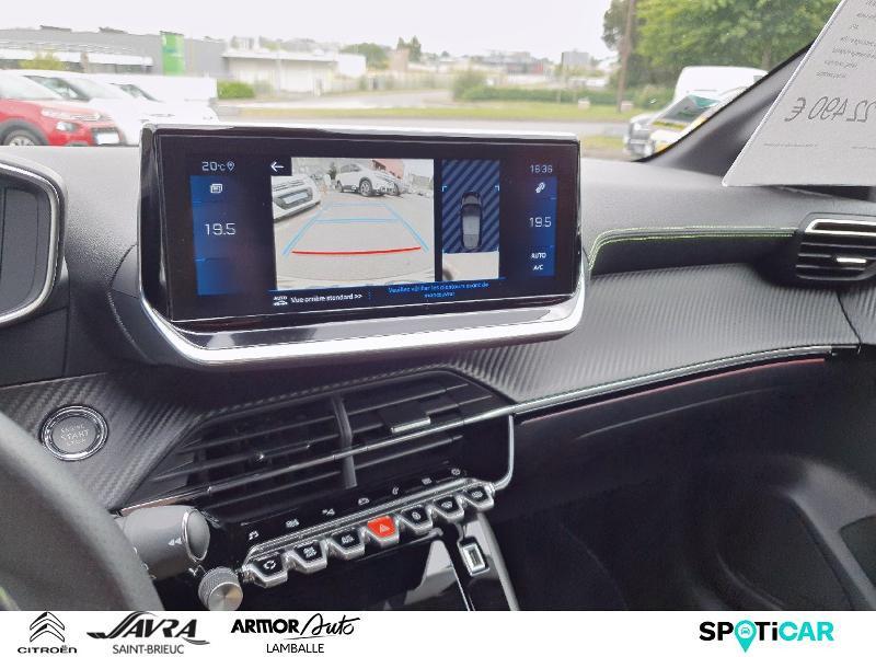 Photo 13 de l'offre de PEUGEOT 208 1.2 PureTech 130ch S&S GT Line EAT8 7cv à 22490€ chez Citroën SAVRA