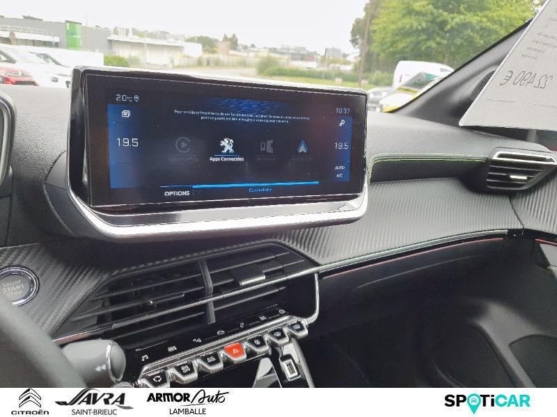 Photo 15 de l'offre de PEUGEOT 208 1.2 PureTech 130ch S&S GT Line EAT8 7cv à 22490€ chez Citroën SAVRA