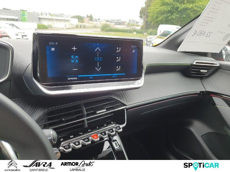 Photo 14 de l'offre de PEUGEOT 208 1.2 PureTech 130ch S&S GT Line EAT8 7cv à 22490€ chez Citroën SAVRA