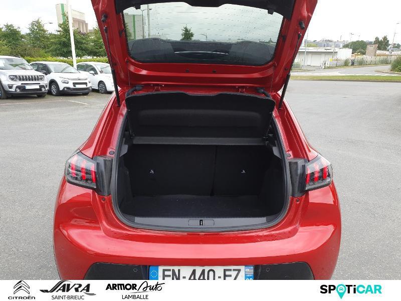 Photo 6 de l'offre de PEUGEOT 208 1.2 PureTech 130ch S&S GT Line EAT8 7cv à 22490€ chez Citroën SAVRA