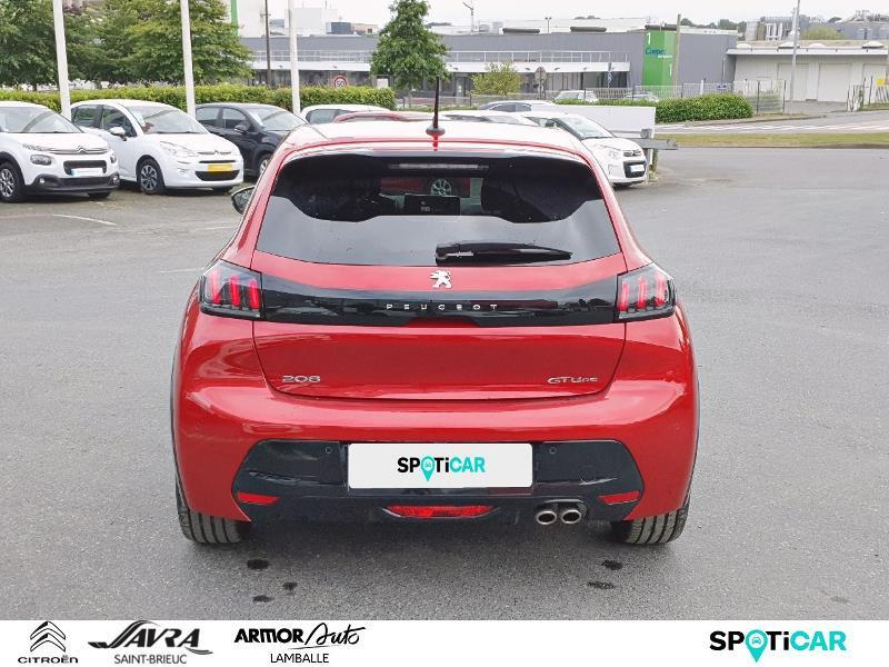 Photo 5 de l'offre de PEUGEOT 208 1.2 PureTech 130ch S&S GT Line EAT8 7cv à 22490€ chez Citroën SAVRA