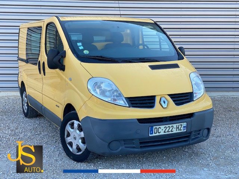 Renault TRAFIC L1H1 2.0 DCI 115 BOITE AUTO 73 450 KM Diesel JAUNE Occasion à vendre