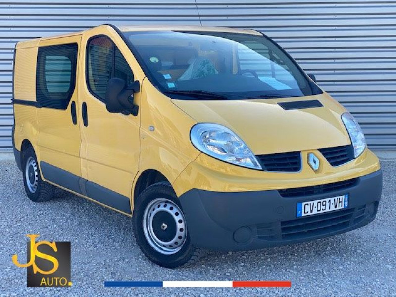 Renault TRAFIC L1H1 2.0 DCI 90 CONFORT 89 550 KM BV6 Diesel JAUNE Occasion à vendre