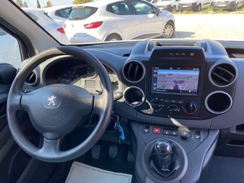 Photo 7 de l'offre de PEUGEOT PARTNER 100 GARANTIE CONSTRUCTEUR CAMERA GPS à 11990€ chez JS Auto