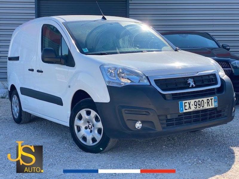 Peugeot PARTNER 100 GARANTIE CONSTRUCTEUR CAMERA GPS Diesel BLANC Occasion à vendre