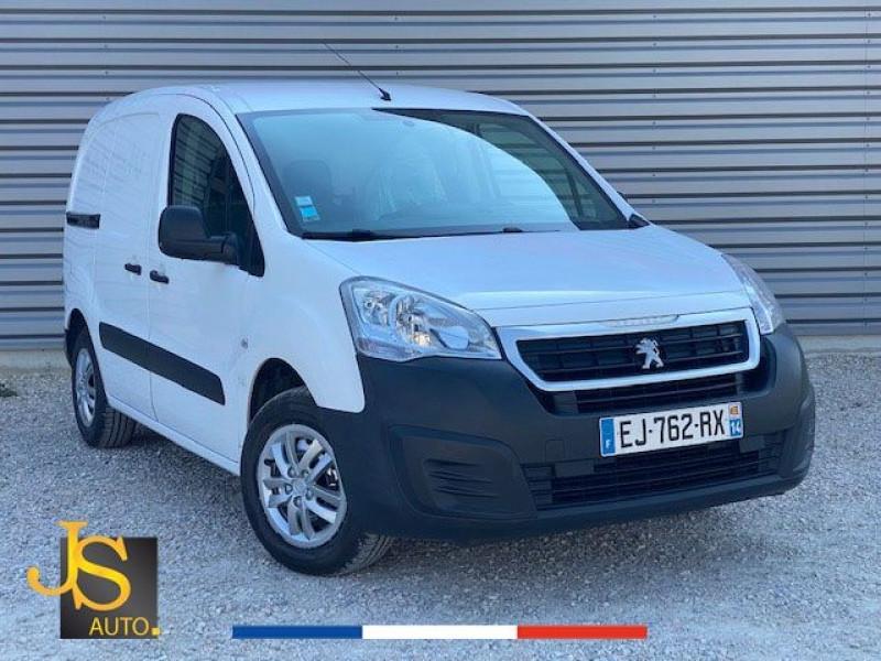 Peugeot PARTNER BLUEHDI 100 CH GARANTIE CONSTRUCTEUR Diesel BLANC Occasion à vendre