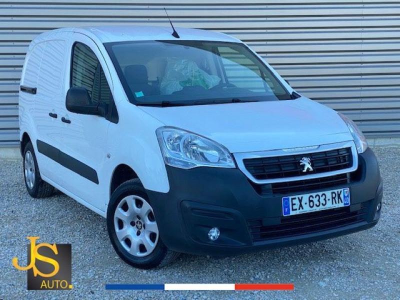 Peugeot PARTNER BLUEHDI 100 CH GARANTIE CONSTRUCTEUR GPS Diesel BLANC Occasion à vendre