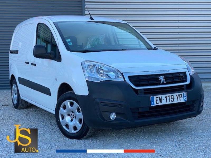 Peugeot PARTNER 100 CH GARANTIE CONSTRUCTEUR CAMERA GPS Diesel BLANC Occasion à vendre