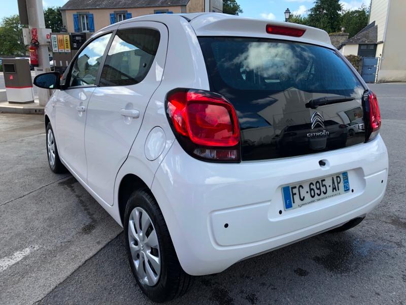 Photo 5 de l'offre de CITROEN C1 VTi 72 Feel 5p à 9490€ chez Garage Guézénec