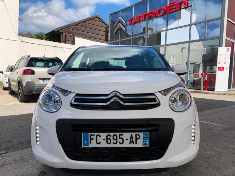 Photo 2 de l'offre de CITROEN C1 VTi 72 Feel 5p à 9490€ chez Garage Guézénec