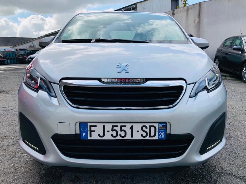 Photo 8 de l'offre de PEUGEOT 108 VTi 72 Active S&S 85g 5p à 9990€ chez Garage Guézénec