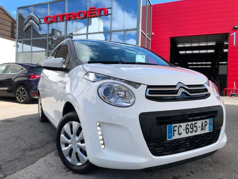 Citroen C1 VTi 72 Feel 5p Essence BLANC Occasion à vendre