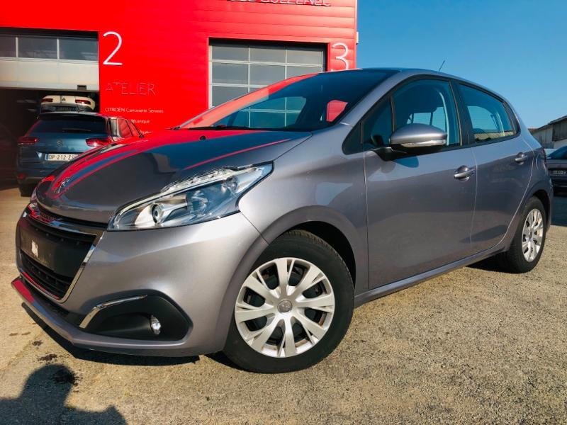 Peugeot 208 1.5 BlueHDi 100ch E6.c Active BVM5 86g 5p Diesel Gris artense Occasion à vendre