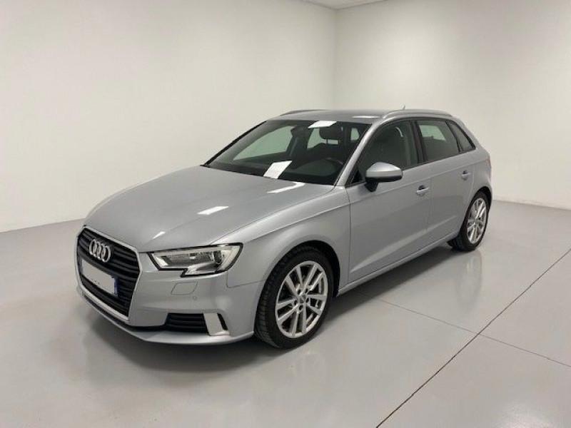 Audi A3 SPORTBACK 2.0 TDI 150CH SPORT S TRONIC 6 Diesel ARGENT FLEURET Occasion à vendre