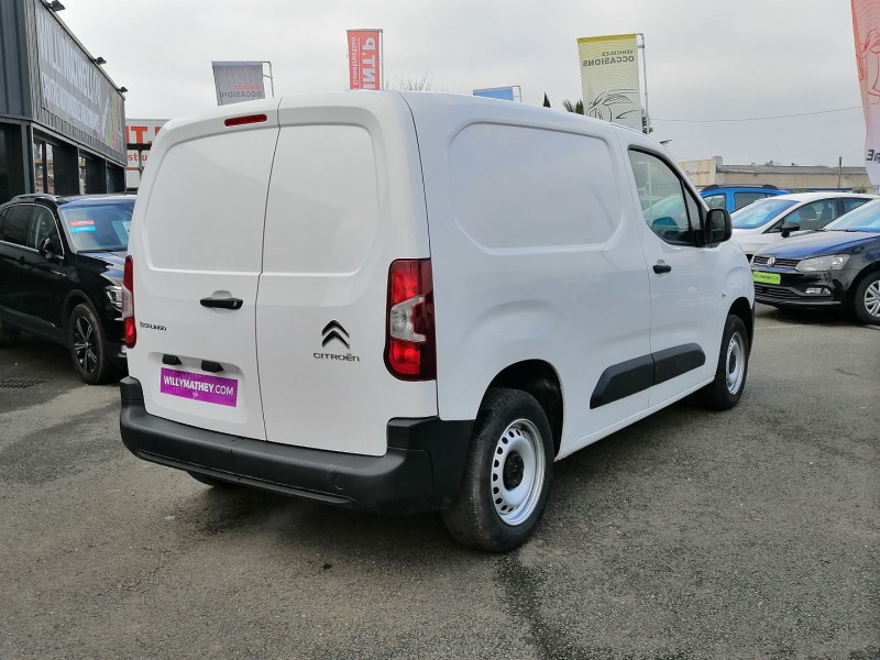 Photo 3 de l'offre de CITROEN BERLINGO VAN M 1000KG BLUEHDI 100 S&S CLUB DISPO DE SUITE à 17990€ chez Willy Mathey automobiles