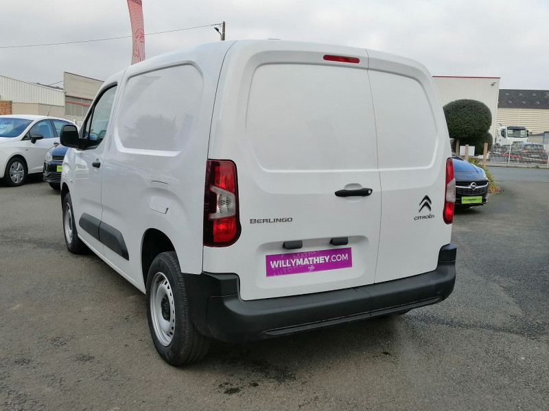 Photo 4 de l'offre de CITROEN BERLINGO VAN M 1000KG BLUEHDI 100 S&S CLUB DISPO DE SUITE à 17990€ chez Willy Mathey automobiles