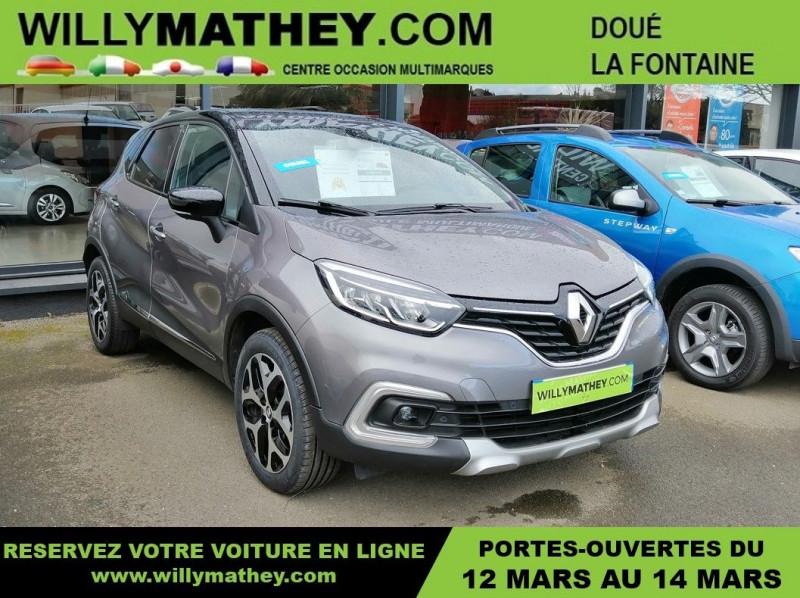 Renault CAPTUR 1.5 DCI 110CH ENERGY INTENS Diesel GRIS CASSIOPE Occasion à vendre