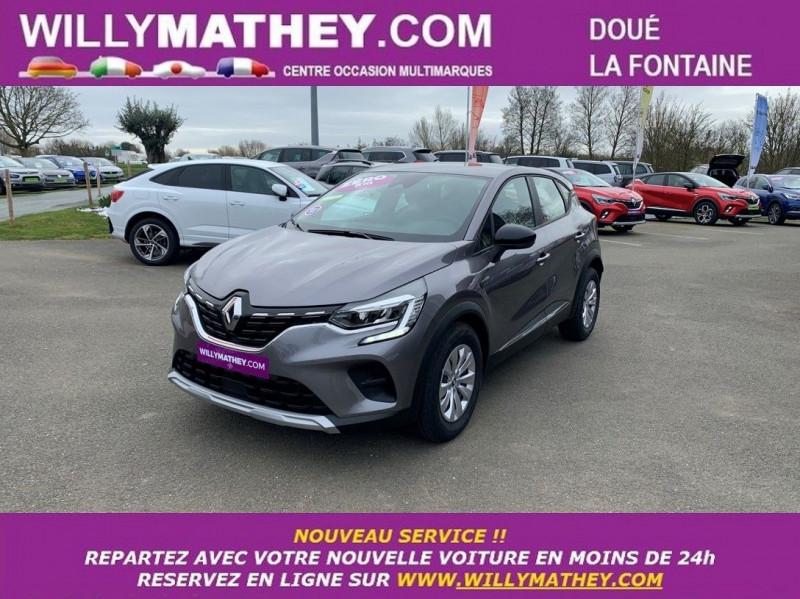 Renault CAPTUR II 1.0 TCE 100CH ZEN GPL - 20 GPL GRIS CASSIOPE Neuf à vendre