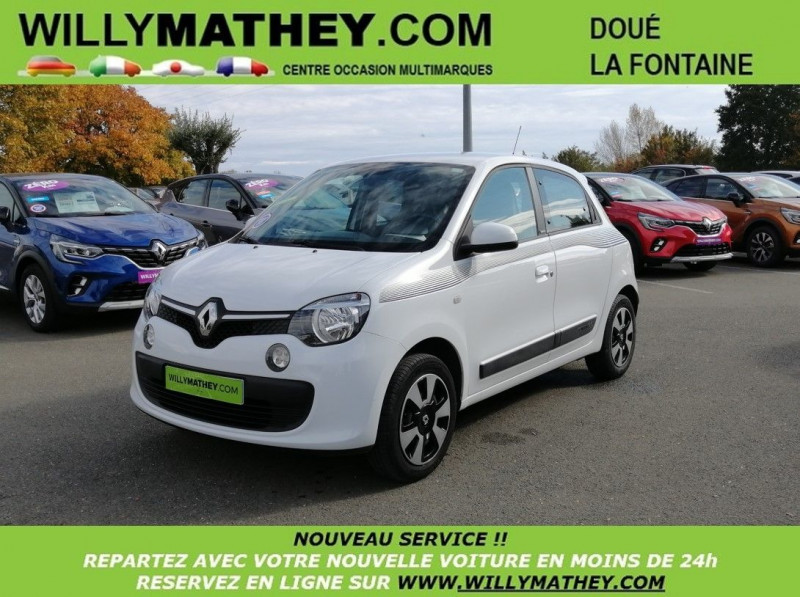 Renault TWINGO III 1.0 SCE 70CH STOP&START LIMITED ECO² Essence BLANC CRISTAL Occasion à vendre