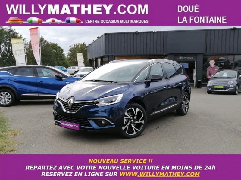 Renault GRAND SCENIC IV 1.7 BLUE DCI 150CH INTENS EDC Diesel BLEU COSMOS Neuf à vendre