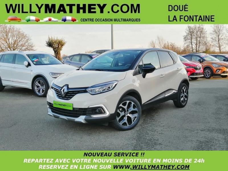 Renault CAPTUR 1.5 DCI 110CH ENERGY INTENS Diesel IVOIR Occasion à vendre