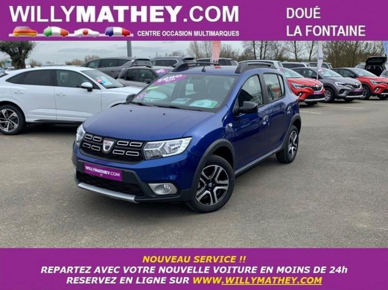 Dacia SANDERO 1.0 ECO-G 100CH STEPWAY BLUELINE GPL BLEU IRON Neuf à vendre