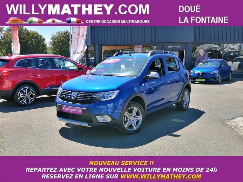 Dacia SANDERO 1.5 BLUE DCI 95CH STEPWAY - 20 Diesel BLEU IRON Neuf à vendre