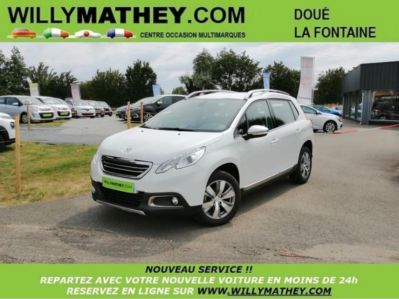Peugeot 2008 1.2 PURETECH ALLURE Essence BLANC NACRÉ Occasion à vendre