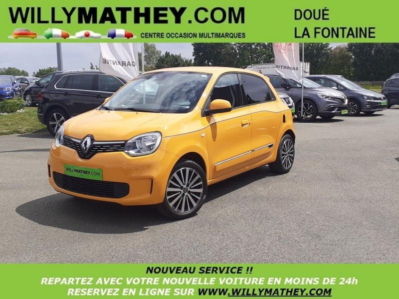 Renault TWINGO III 0.9 TCE 95CH INTENS - 20 Essence JAUNE MANGO Occasion à vendre