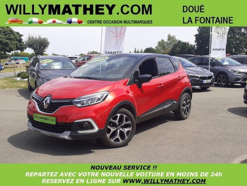 Renault CAPTUR 0.9 TCE 90CH ENERGY INTENS EURO6C Essence ROUGE FLAMME Occasion à vendre