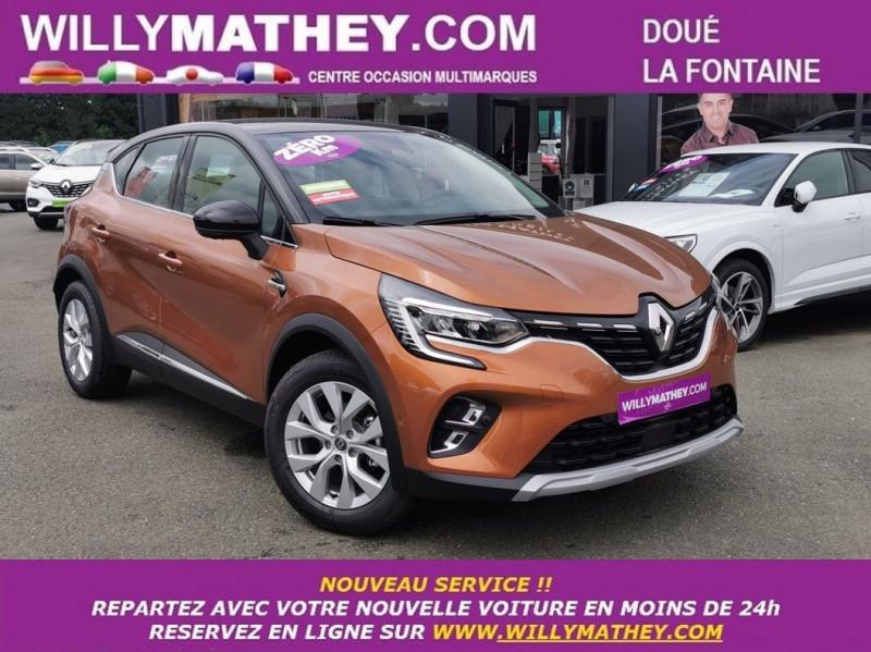 Renault CAPTUR II 1.3 TCE 140CH FAP INTENS EDC - 21 Essence ORANGE ATACAMA Neuf à vendre