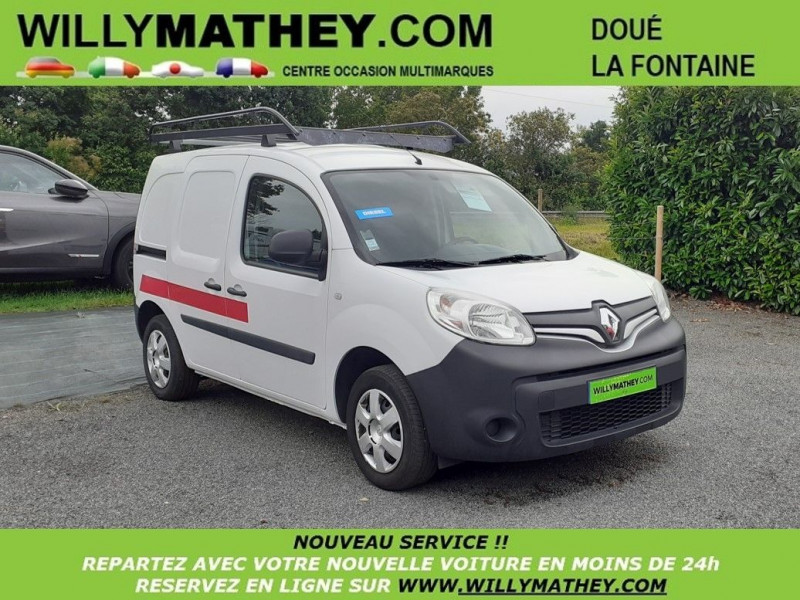 Renault KANGOO II EXPRESS 1.5 DCI 75 ENERGY GRAND CONFORT FT Diesel BLANC Occasion à vendre