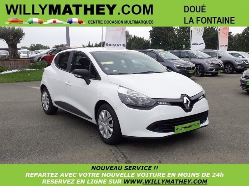 Renault CLIO IV 1.2 16V 75CH LIFE Essence BLANC Occasion à vendre