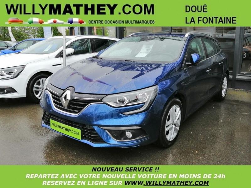 Renault MEGANE IV ESTATE 1.5 DCI 110CH ENERGY BUSINESS Diesel BLEU COMOS Occasion à vendre