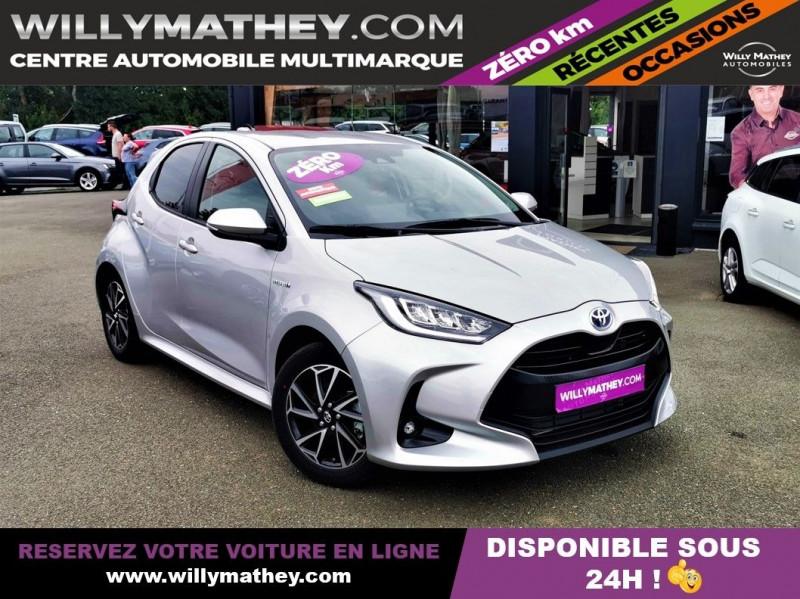 Toyota YARIS 116H DESIGN 5P Hybride GRIS ALUMINIUM Neuf à vendre