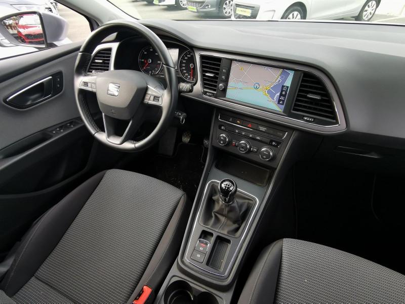 Photo 13 de l'offre de SEAT LEON ST 1.6 TDI 115CH FAP STYLE à 15990€ chez Willy Mathey automobiles