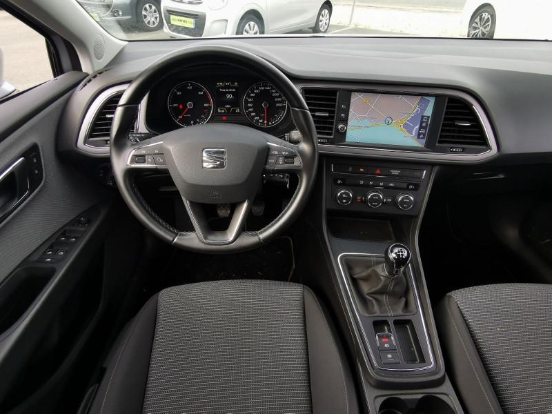 Photo 11 de l'offre de SEAT LEON ST 1.6 TDI 115CH FAP STYLE à 15990€ chez Willy Mathey automobiles