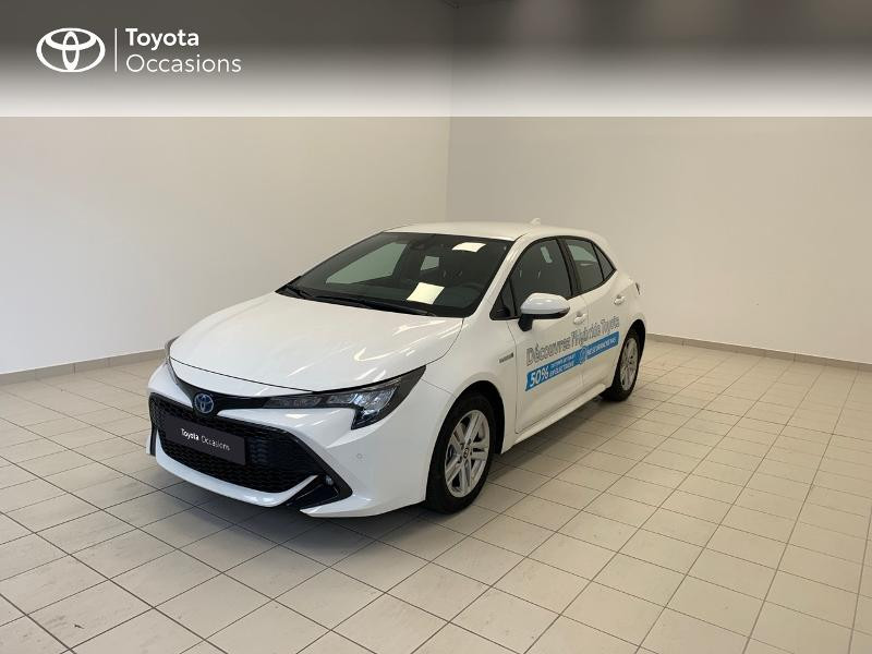Toyota Corolla 122h Dynamic Business MY21 + Stage Hyrid Academy Hybride BLANC PUR Occasion à vendre