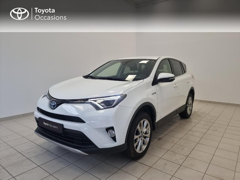 Toyota RAV4 197 Hybride Dynamic Edition 2WD CVT RC18 Hybride blanc Occasion à vendre