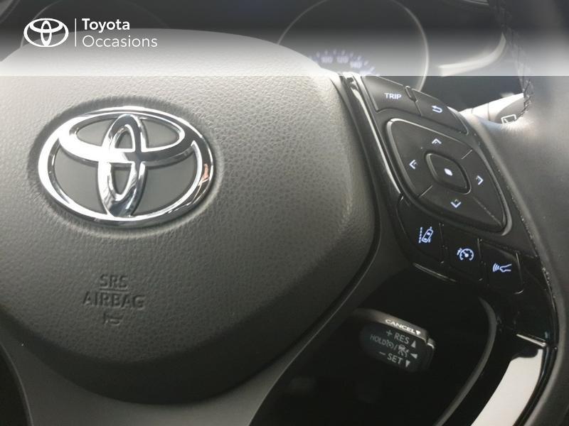 Photo 20 de l'offre de TOYOTA C-HR 122h Dynamic 2WD E-CVT RC18 à 20480€ chez Brest Automobiles - Toyota Brest