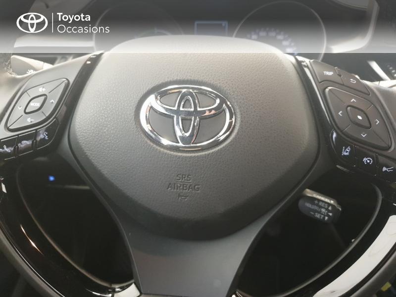 Photo 10 de l'offre de TOYOTA C-HR 122h Edition 2WD E-CVT à 21480€ chez Brest Automobiles - Toyota Brest