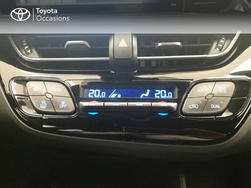 Photo 22 de l'offre de TOYOTA C-HR 122h Dynamic 2WD E-CVT RC18 à 20480€ chez Brest Automobiles - Toyota Brest