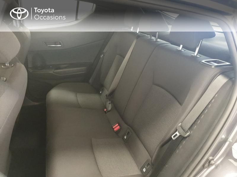 Photo 12 de l'offre de TOYOTA C-HR 122h Dynamic 2WD E-CVT RC18 à 20480€ chez Brest Automobiles - Toyota Brest