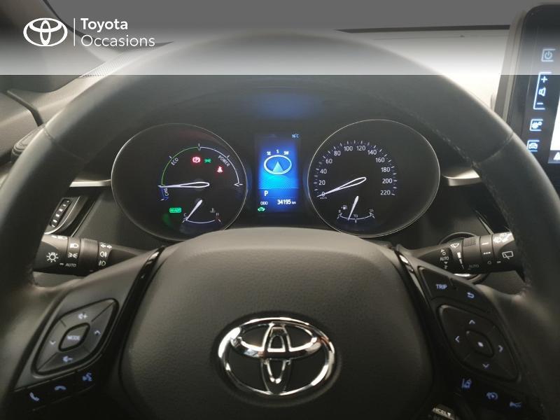 Photo 13 de l'offre de TOYOTA C-HR 122h Dynamic 2WD E-CVT RC18 à 20480€ chez Brest Automobiles - Toyota Brest