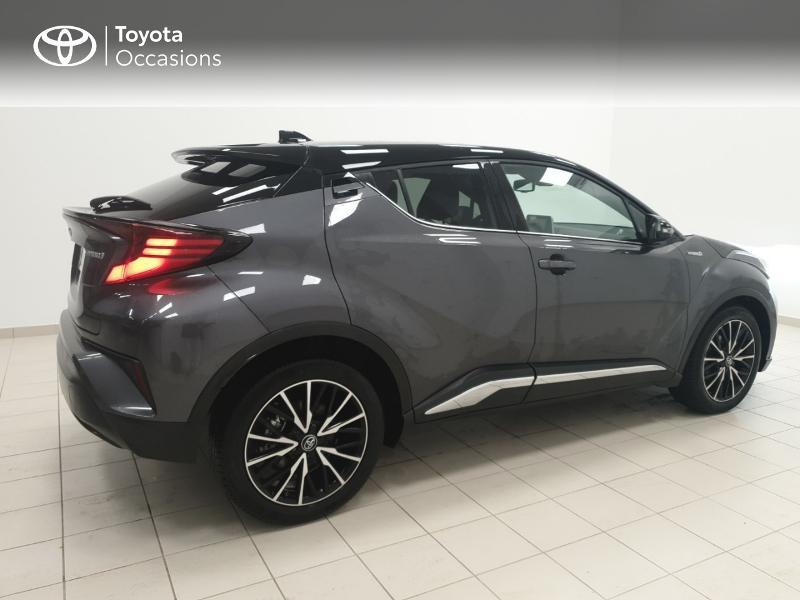 Photo 17 de l'offre de TOYOTA C-HR 122h Distinctive 2WD E-CVT MC19 à 24980€ chez Brest Automobiles - Toyota Brest