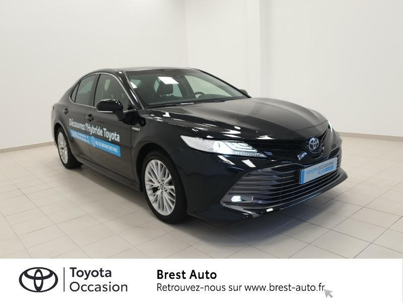 Photo 17 de l'offre de TOYOTA Camry Hybride 218ch Design à 33980€ chez Brest Automobiles - Toyota Brest