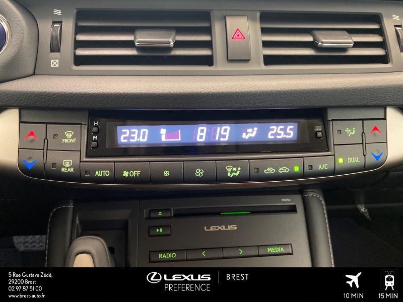 Photo 11 de l'offre de LEXUS CT 200h Pack 2020 à 27690€ chez Brest Automobiles - Toyota Brest