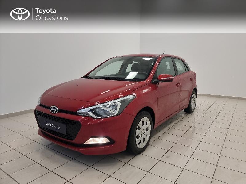 Hyundai i20 1.2 75 Edition #Clim Essence rouge Occasion à vendre